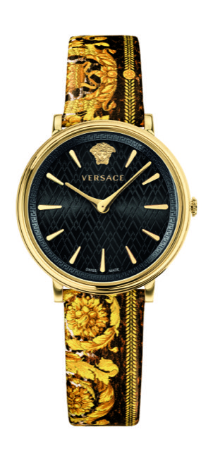 Versace V-Circle Tribute Edition Watch Black