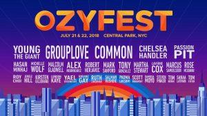 OZY FEST COMES TO CENTRAL PARK