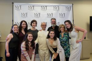 Cast members and director Joel Grey begin rehearsals for Fiddler on the Roof