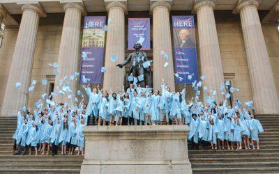 Léman Manhattan's Sixth Class Graduates