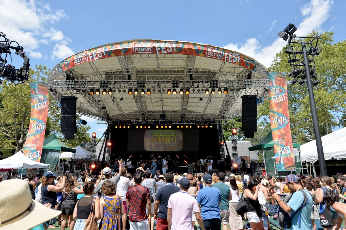 OZY FEST Main Stage