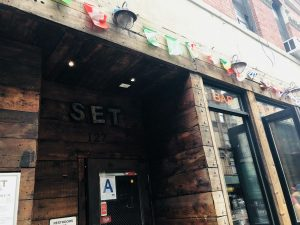 The Set LES is located in 127 Ludlow St.