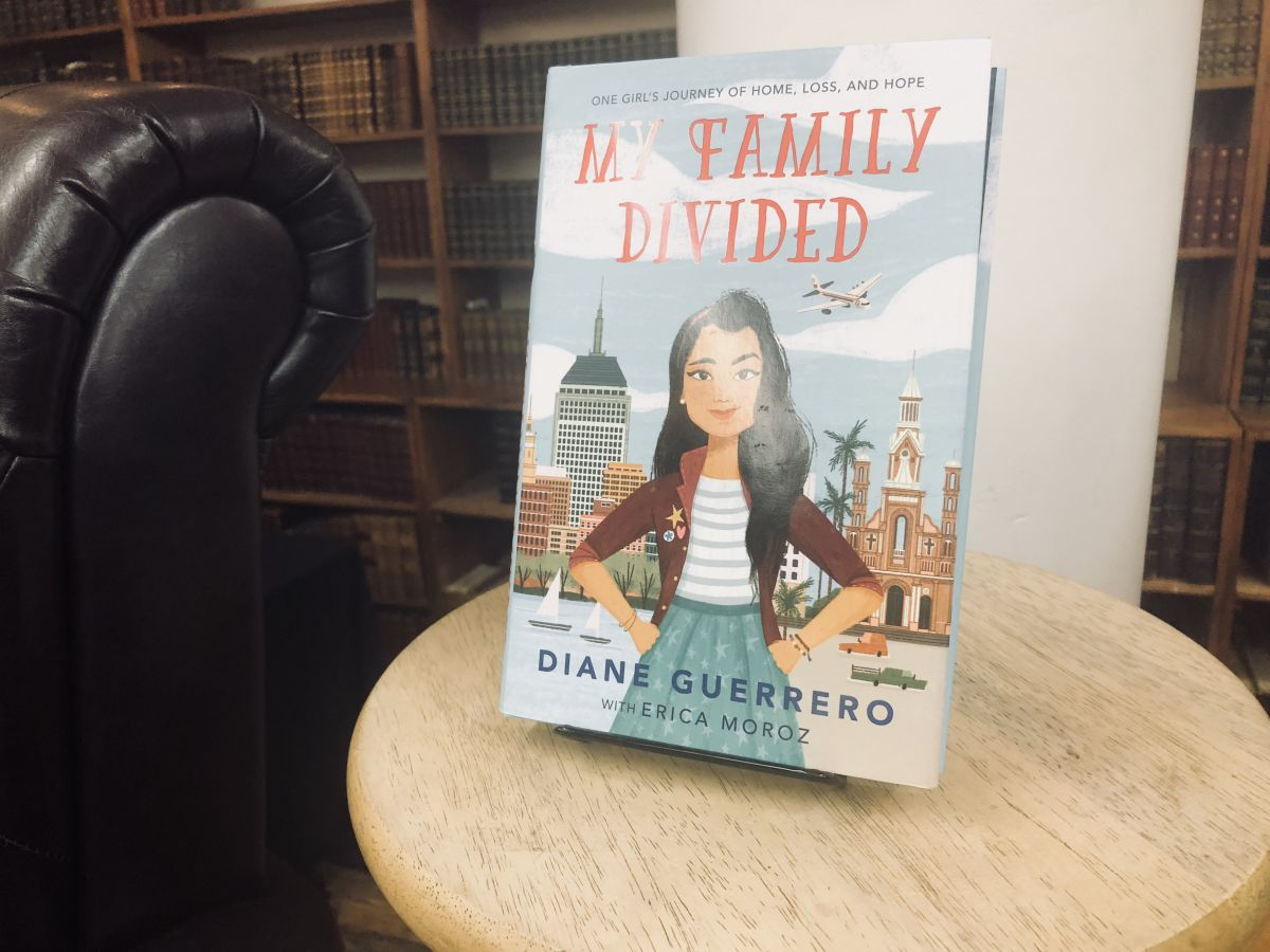 Diane Guerrero's book My Family Divided.