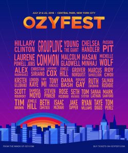 Hillary Clinton to headline Ozy Fest
