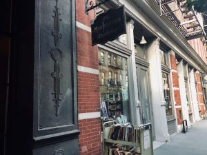 The Mysterious Bookshop is locate on 58 Warren Street.