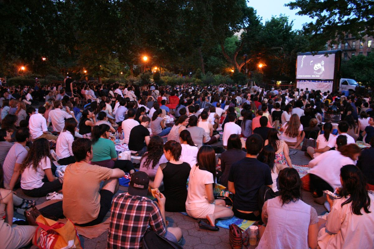 French Films in Tompkins Square Park, from Films on the Green