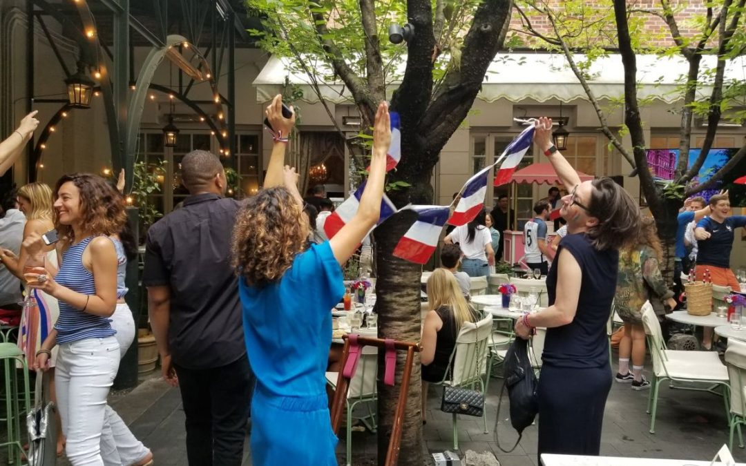 The World Cup Brings French Pride to Soho