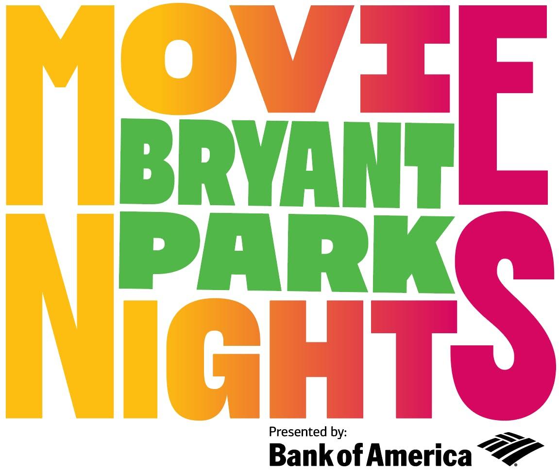 Bryant Park Movie Night Logo