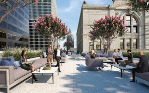 120 Broadway Tennent Rooftop Amenities