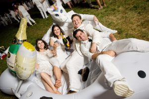 Diner en Blanc takes over Governors Island