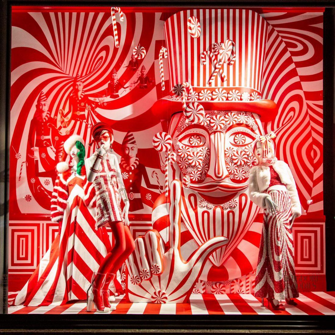 Bergdorf Goodman : Holiday 2018 Window Reveal