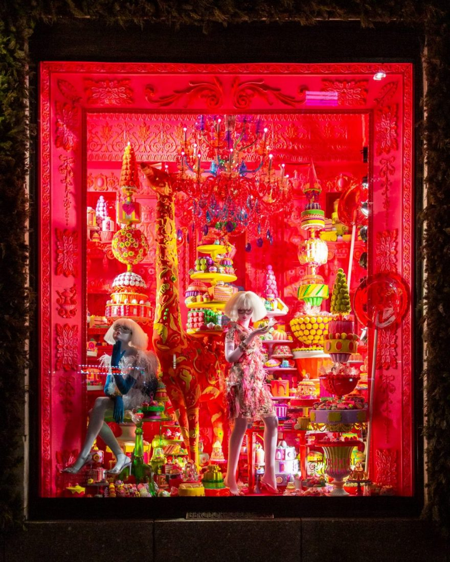 It's Christmas Time at Bergdorf