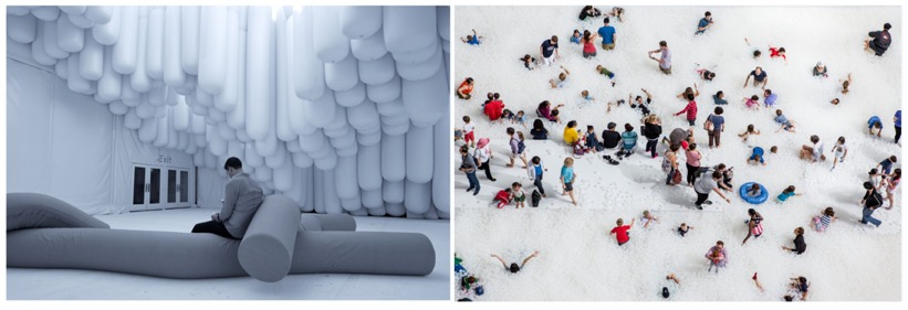 Snarkitecture Installations