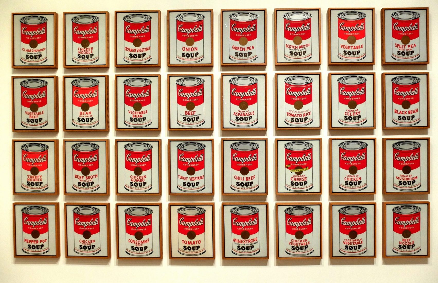 Andy Warhol at the Whitney