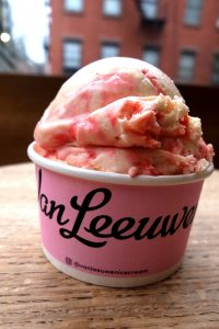 Peppermint Stick ice cream from Van Leeuwen