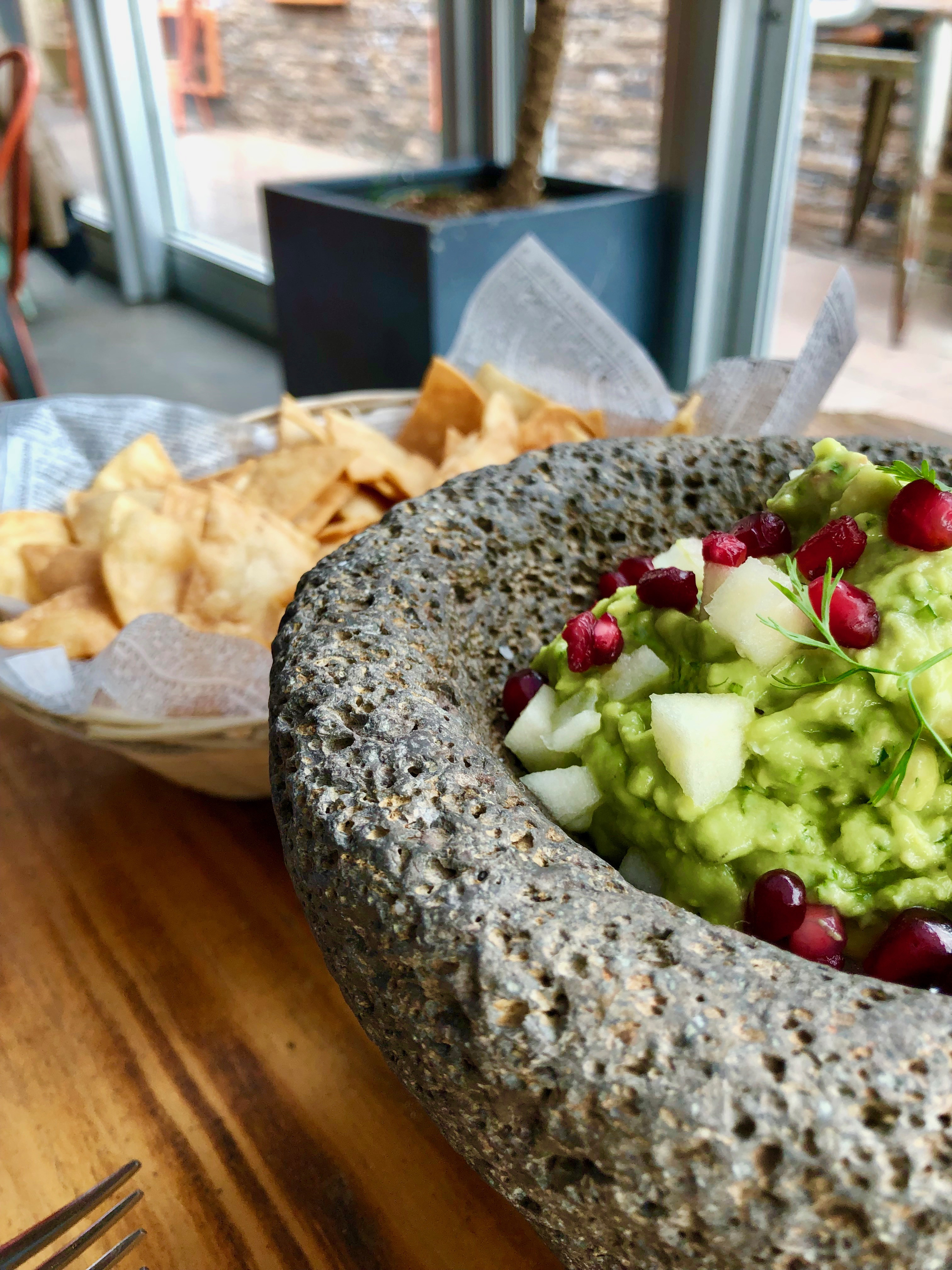 cantina rooftop guacamole