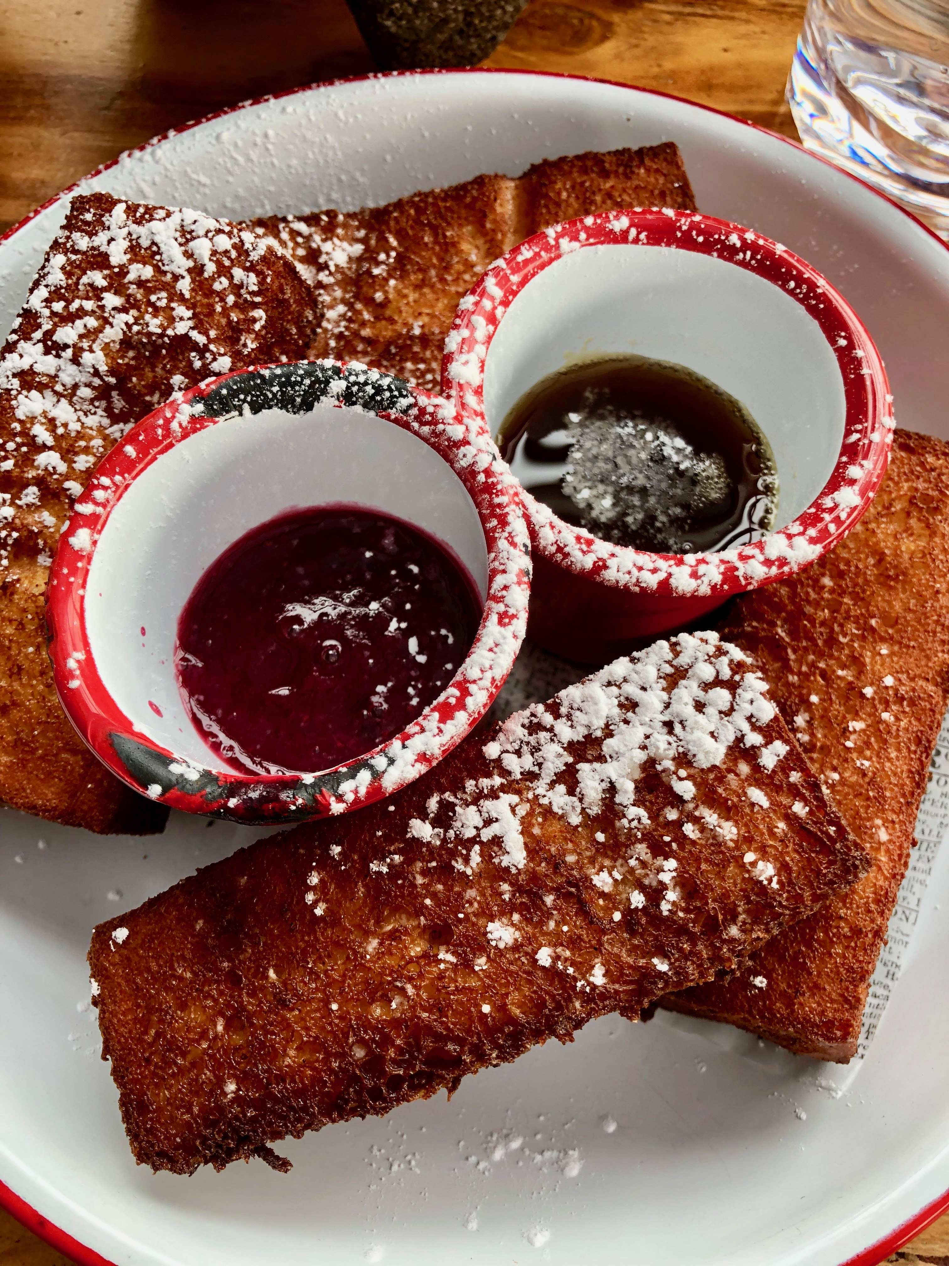 cantina rooftop french toast
