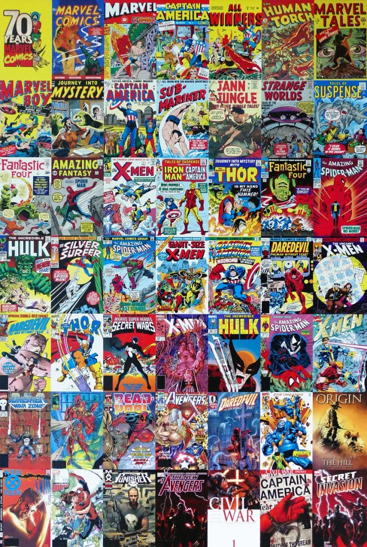 70 Years of Marvel