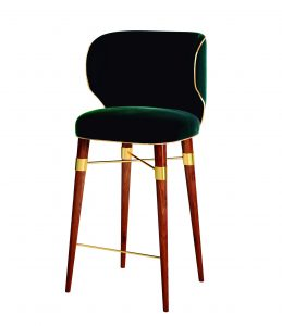 Louis Bar Chair by Astele