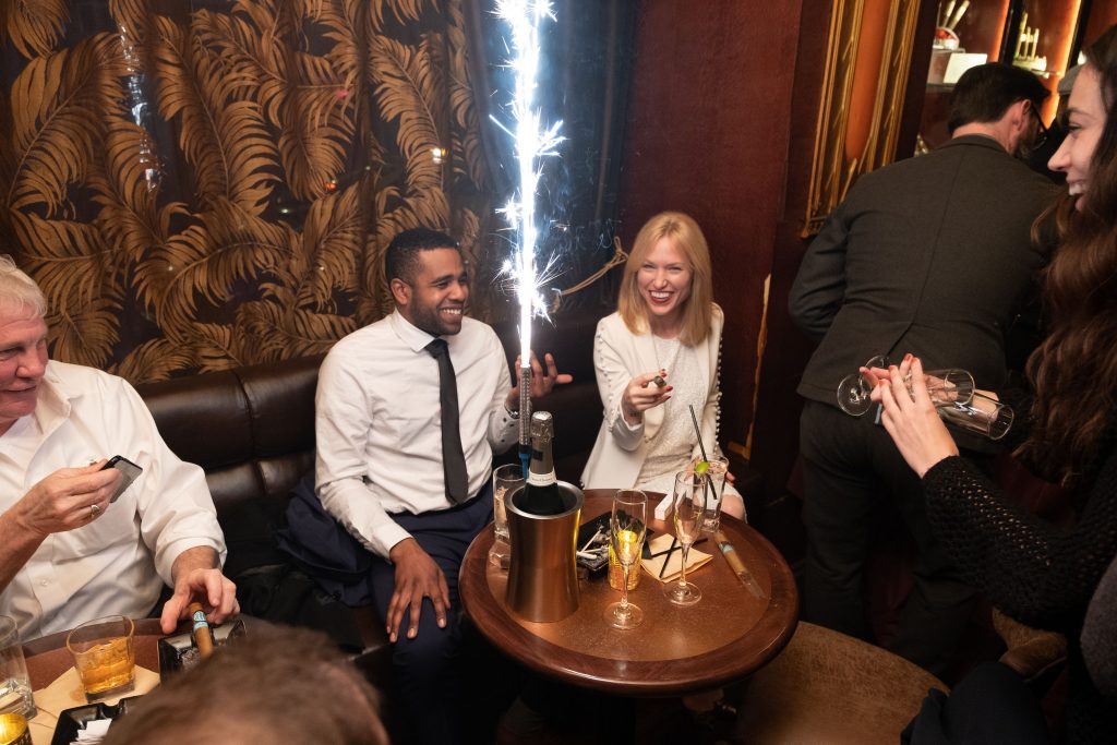 soho cigar bar celebration