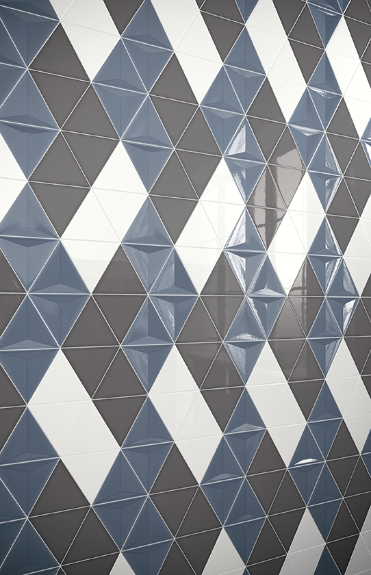 attire 3d collection of tiles from Nemo Tile & Stone.