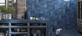 Blue casablanca tile from nemo Tile & stone.