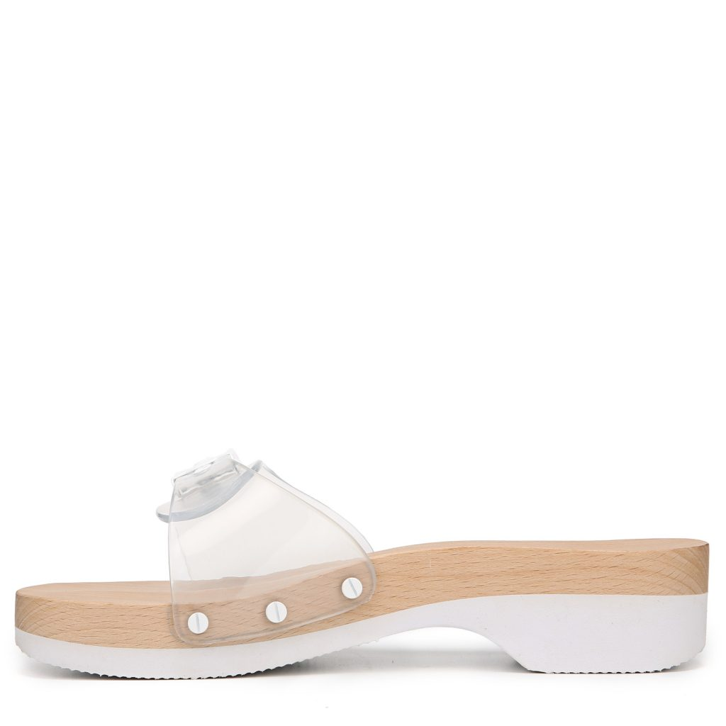 ff4fbf070 Dr. Scholl s hasn t abandoned one of their original styles! This funky take  on wood sandal that started it all will be available exclusively at Urban  ...