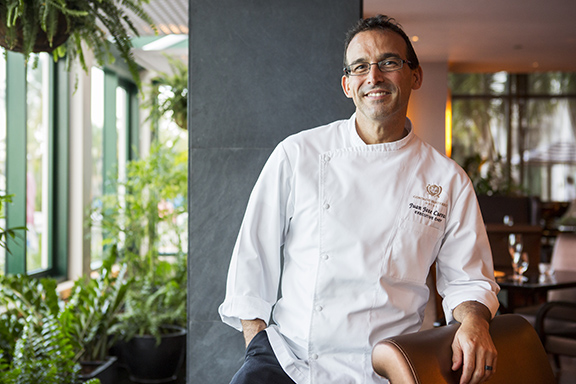 Chef Juan Jose Cuevas of 1919 Restaurant in the Condado Vanderbilt, San Juan, Puerto Rico.