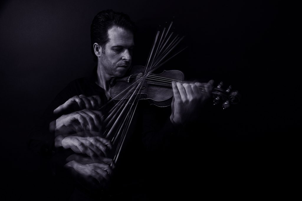 We Can't Wait for Violinist Gregory Harrington's New Album of