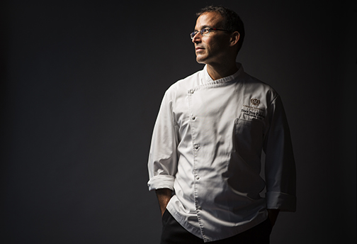 Chef Juan Jose Cuevas.