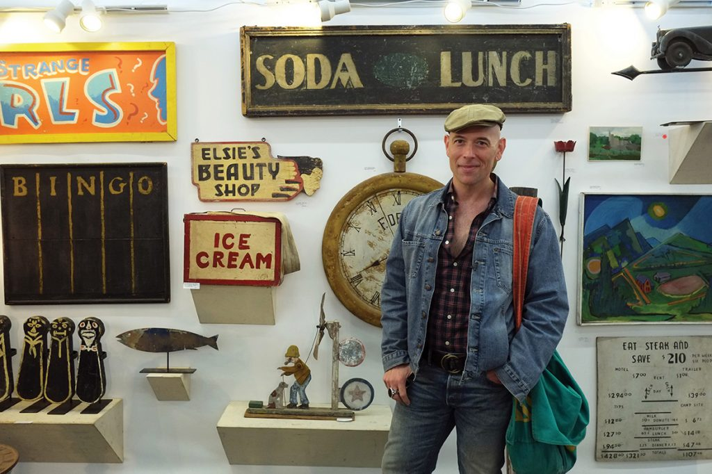 Interior designer, stylist, and vintage lifestyle expert, Bob Richter of Vintage Living by Rizzoli.