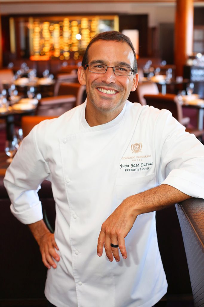 Executive Chef Juan Jose Cuevas; 1919 Restaurant in the Condado Vanderbilt.