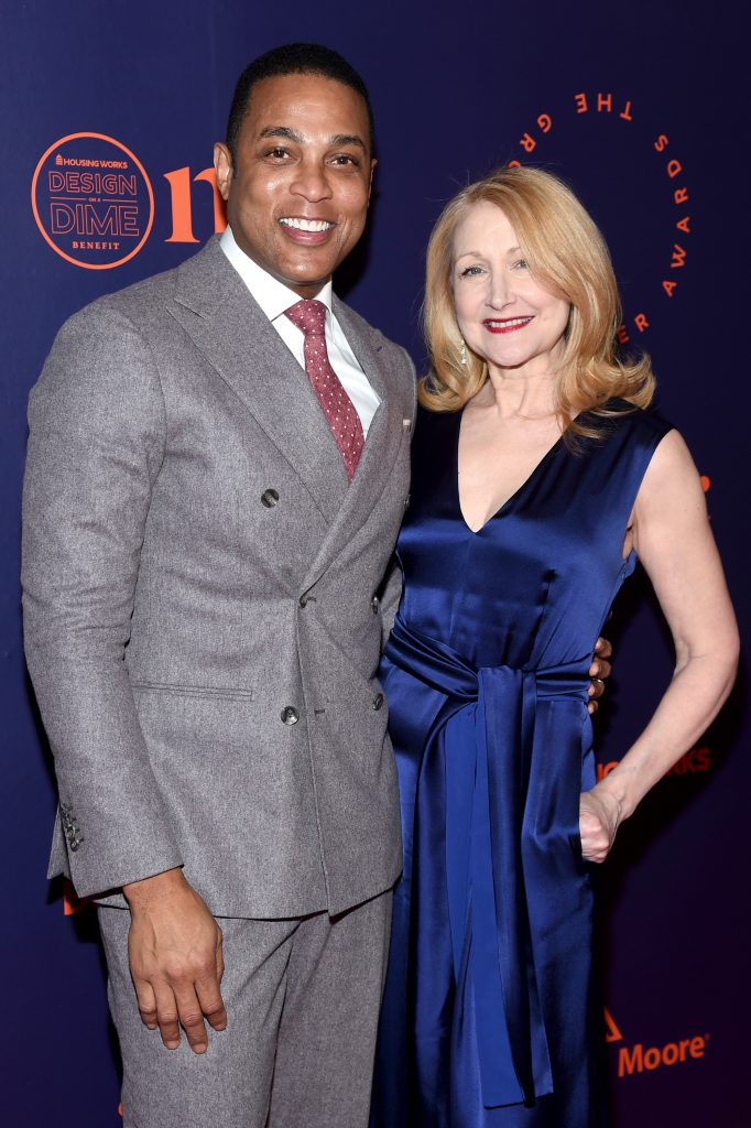 NEW YORK, NEW YORK - APRIL 24: CNN Anchor Don Lemon and actress Patricia Clarkson attend the Housing Works' Groundbreaker Awards Dinner 2019 on April 24, 2019 in New York City. (Photo by Gary Gershoff/Getty Images for Housing Works)