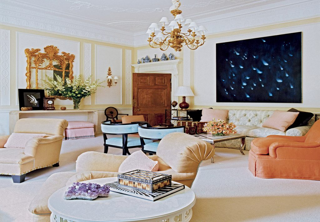 One of Jeffrey Bilhuber's gorgeous interiors in his book, Everyday Decorating.