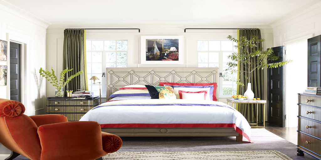 Jeffrey Bilhuber's Sexy Bedroom in Everyday Decorating.