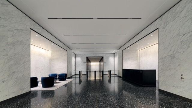 Visit The Gorgeously Redesigned Lobby At 55 Broad Street