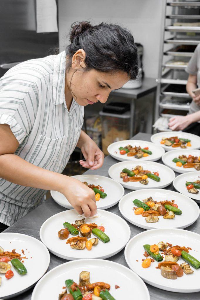 Chef Natalia Lucia Vallejo.