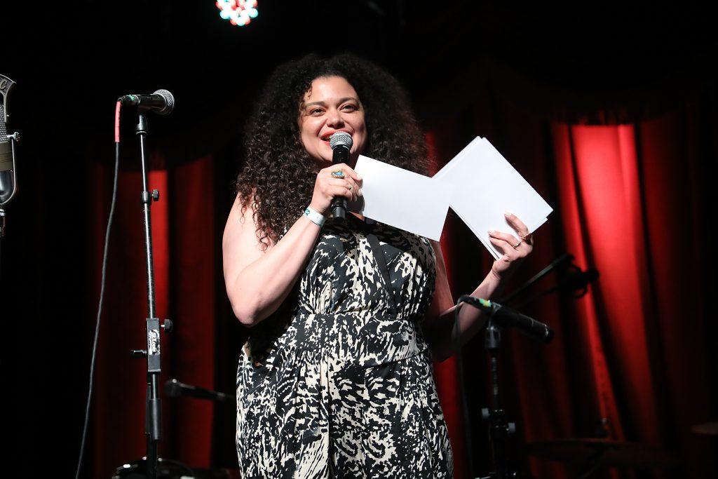 Comedian Michelle Buteau MC's New York Public Radio Live