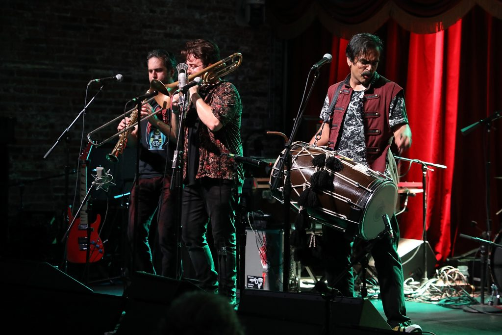Red Baraat Rocks Out at New York Public Radio Live
