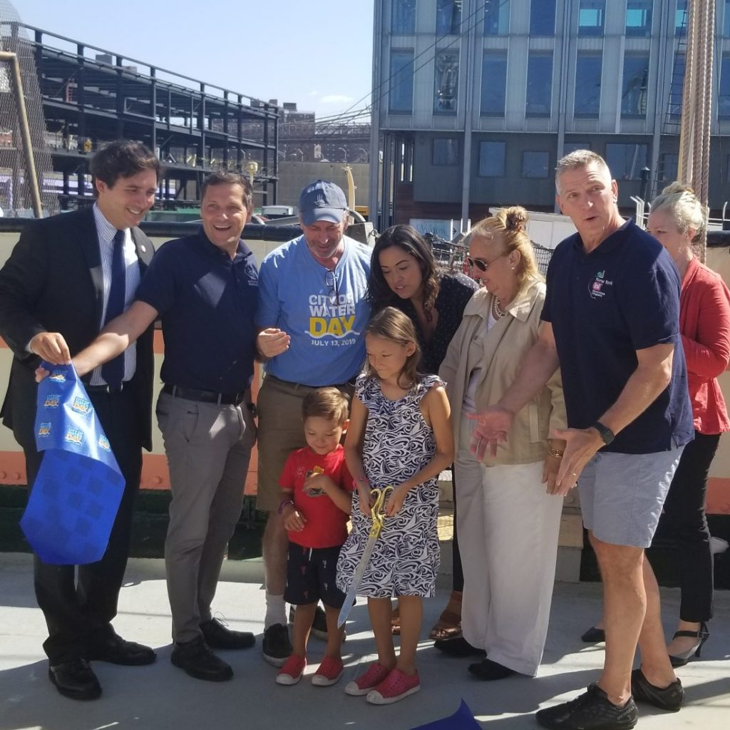 Waterfront Alliance Cuts Ribbon