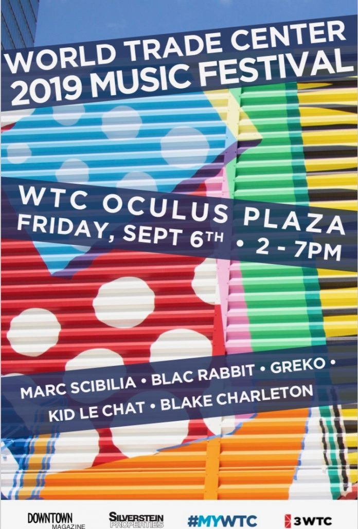 Downtown Magazine and WTC Concert Friday