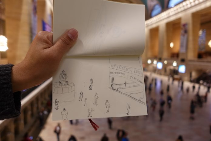 NYC Experiences: Sketch and The City