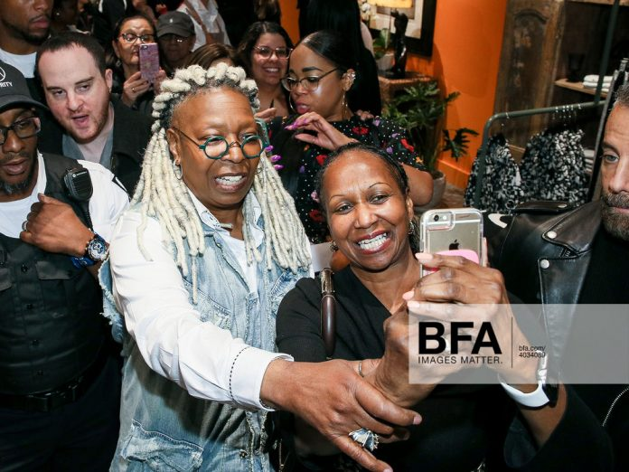 Whoopie Goldberg Opens Shop in the American Dream
