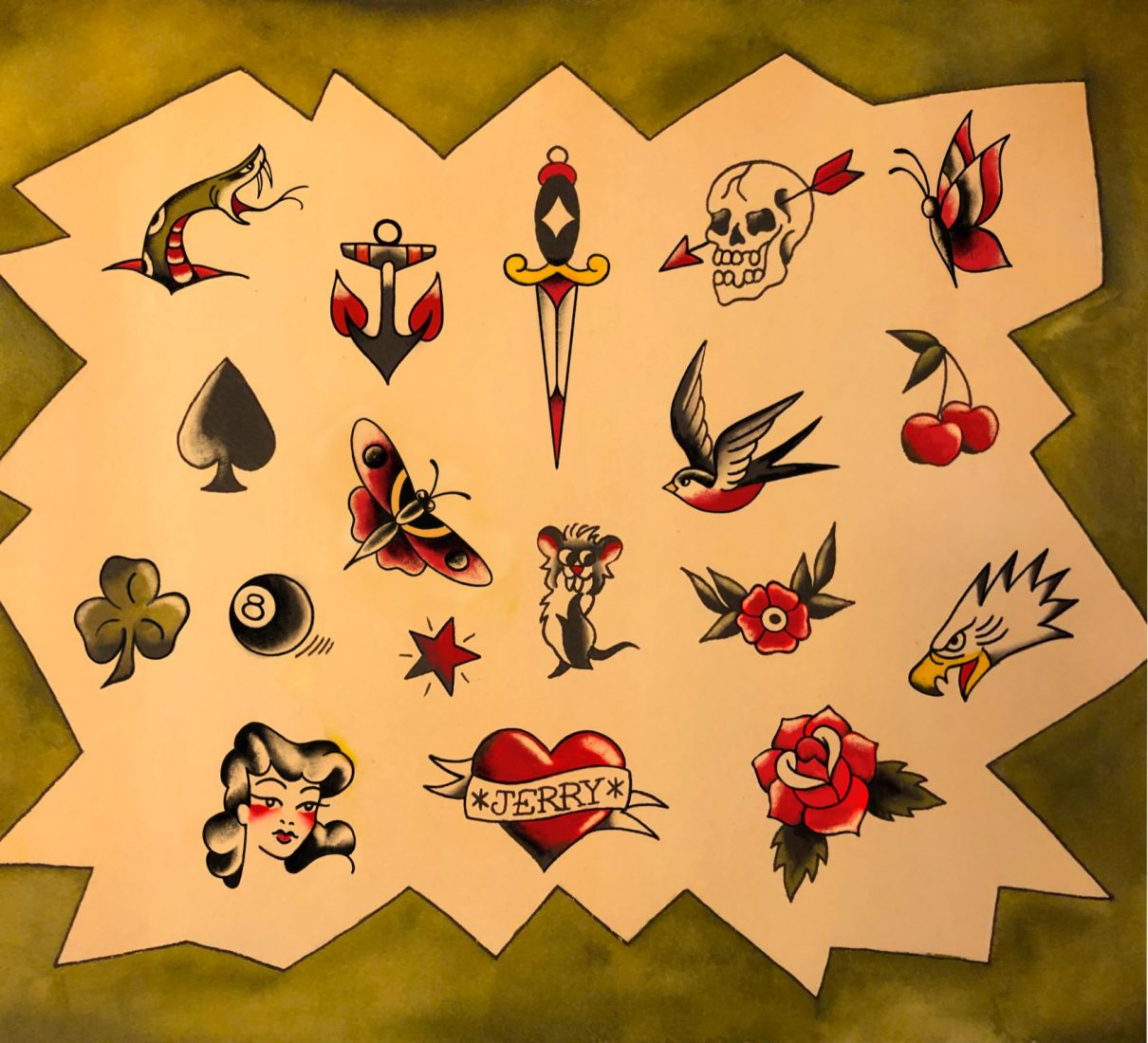 Get A Sailor Jerry Tattoo At Daredevil Tattoo Museum On January 14 Downtown Magazine