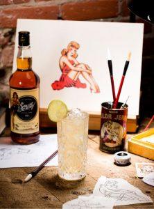 Sailor Jerry + Ginger Cocktails