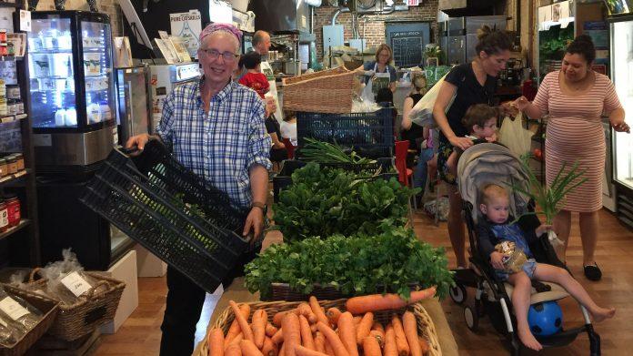 Fulton stall market