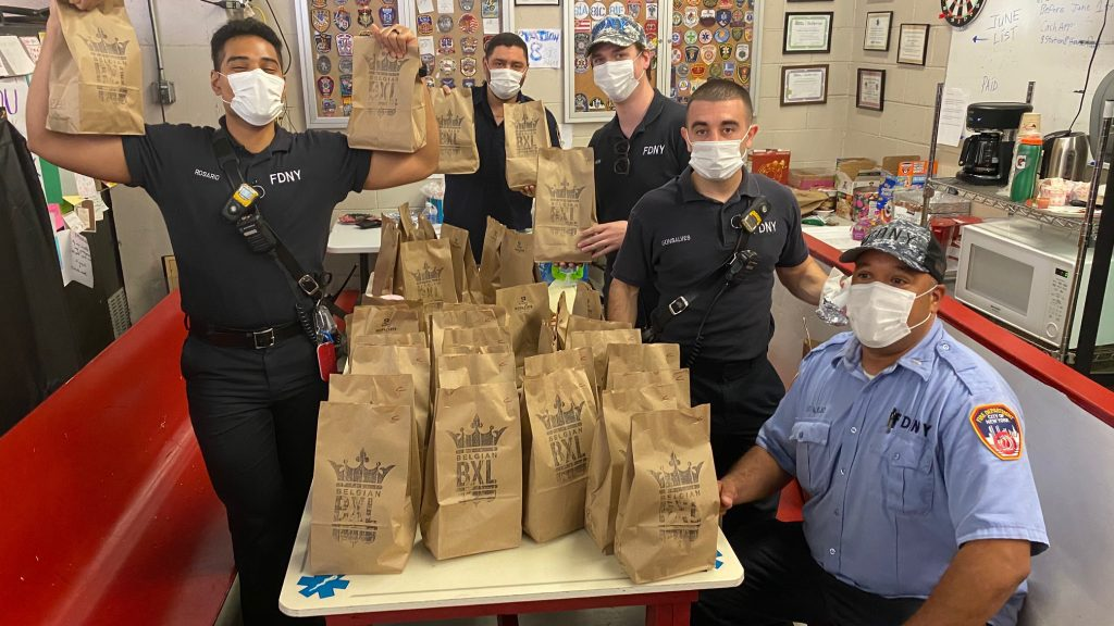 Feeding Flatiron's First Responders