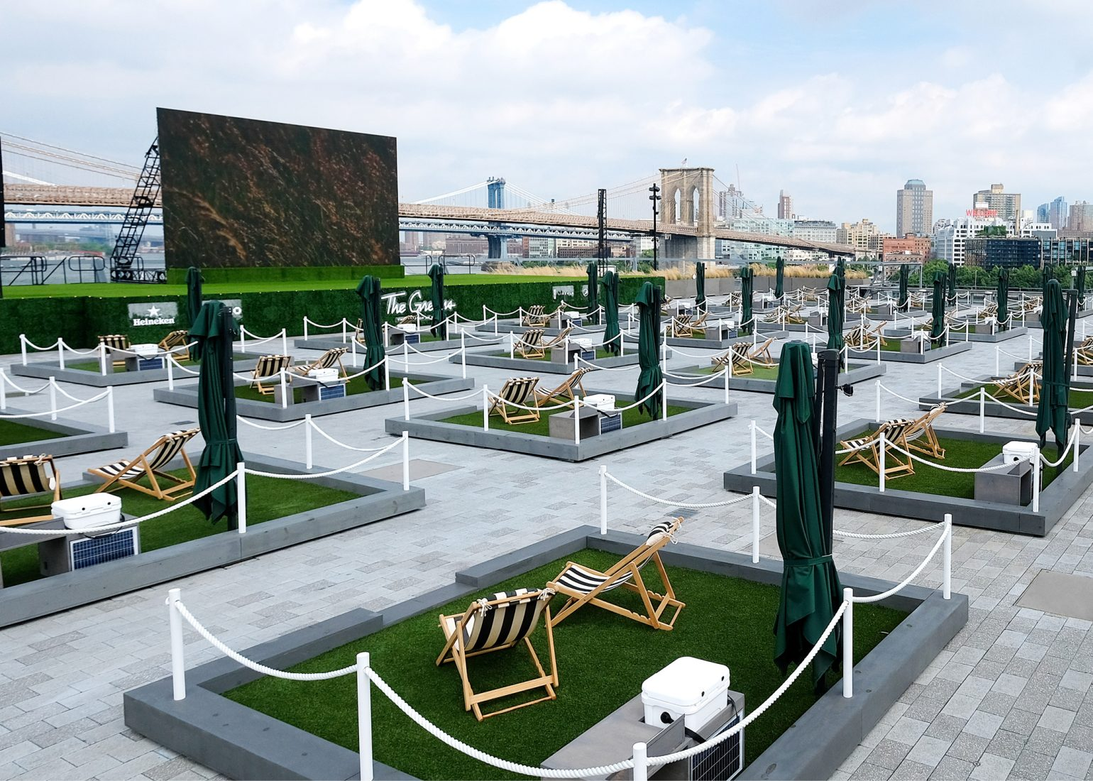 The Greens New Rooftop Pier 17 Summer 2020