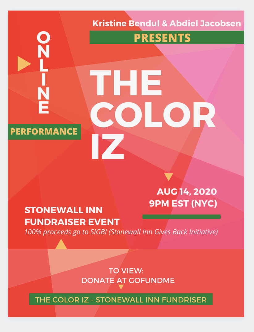 The Color Iz at The Stone Wall