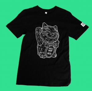 MOCA lucky cat shirt